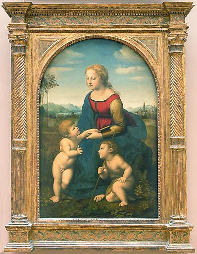 A Virgem com o Menino e o pequeno João Batista