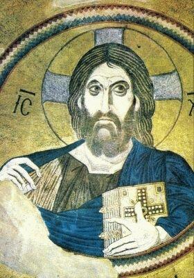 Cristo Todo-Poderoso, arte bizantina