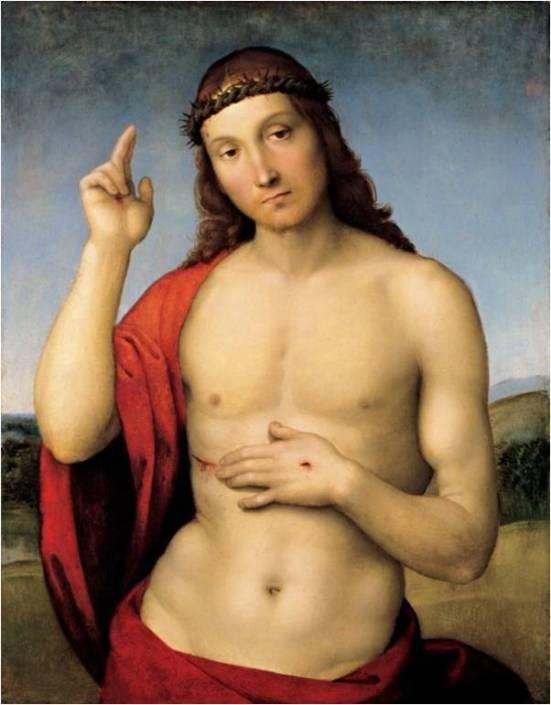 Cristo de Rafael Sanzio