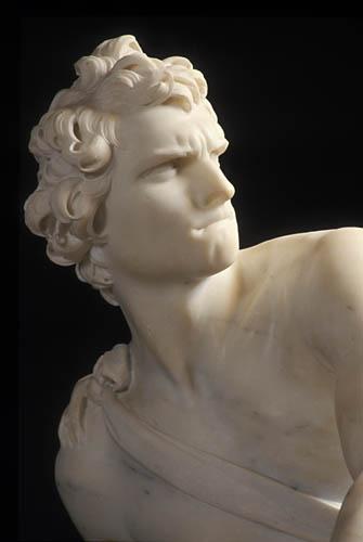 Bernini - David jogando a pedra