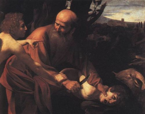 Caravaggio - O Sacrifício de Isaac